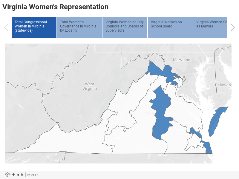Virginia Women in Office