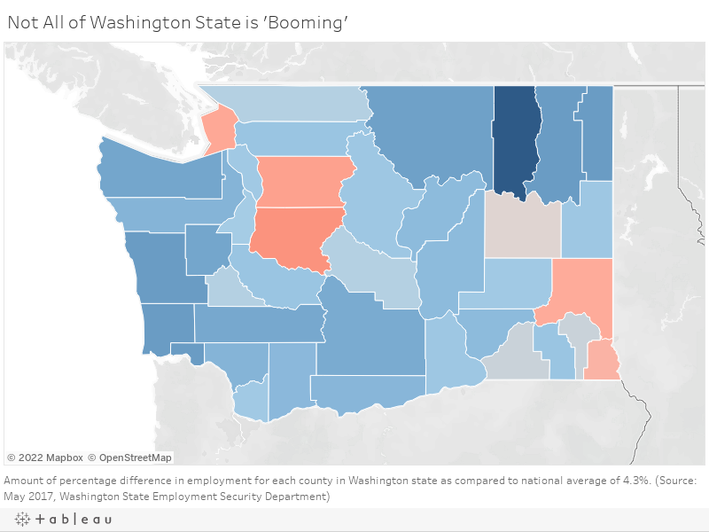 Is All of Washington State Booming?