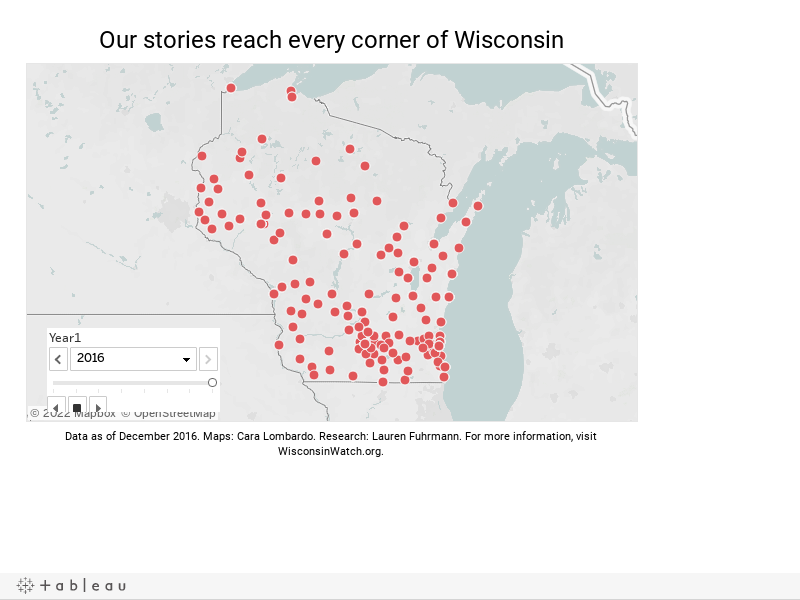 Wisconsin map for website