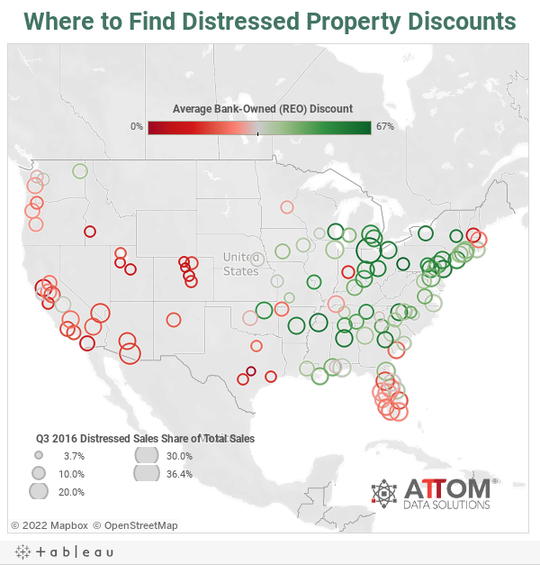 Where to Find Distressed Property Discounts