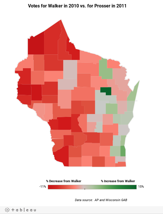 Wisconsin Election Variance