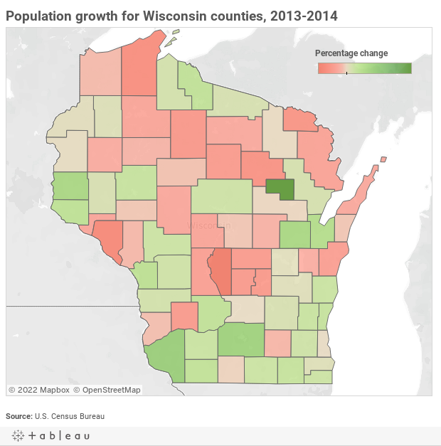 Dane County municipalities produce some of state's largest