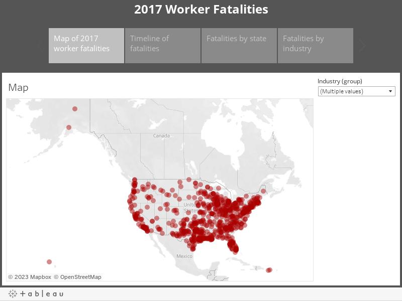 2017 Worker Fatalities