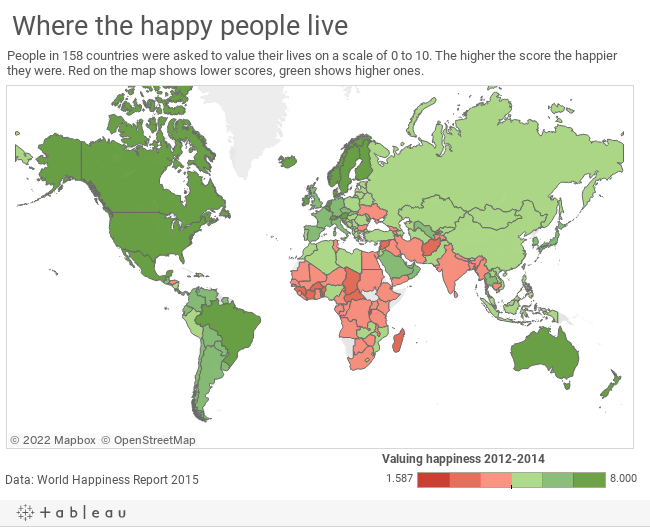 Africa: The not-so-happy continent