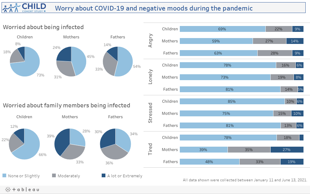 Worry about SARS-CoV-2 infection and negative moods during the COVID-19 Pandemic