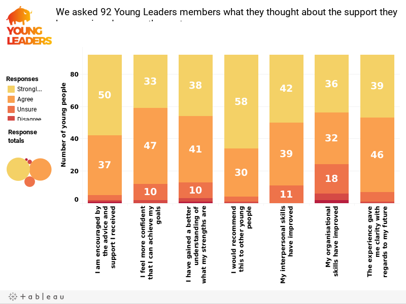 Young Leaders Impact Dashboard