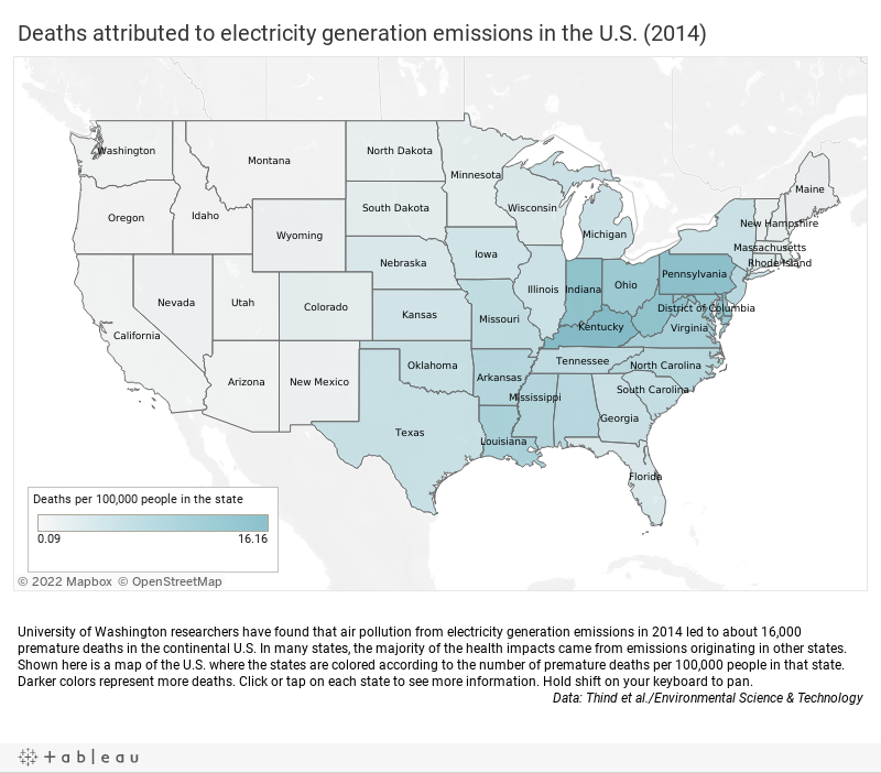 Emissions from Electricity Generation Lead to Premature Deaths for Some Racial Groups