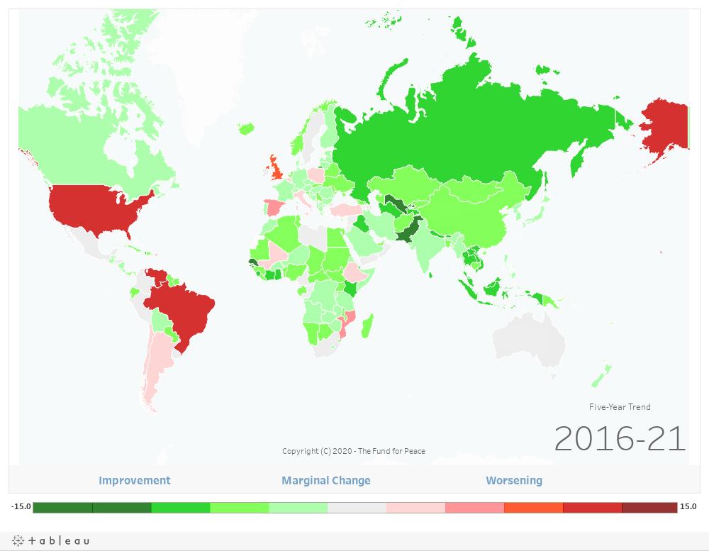 Dashboard: World Map