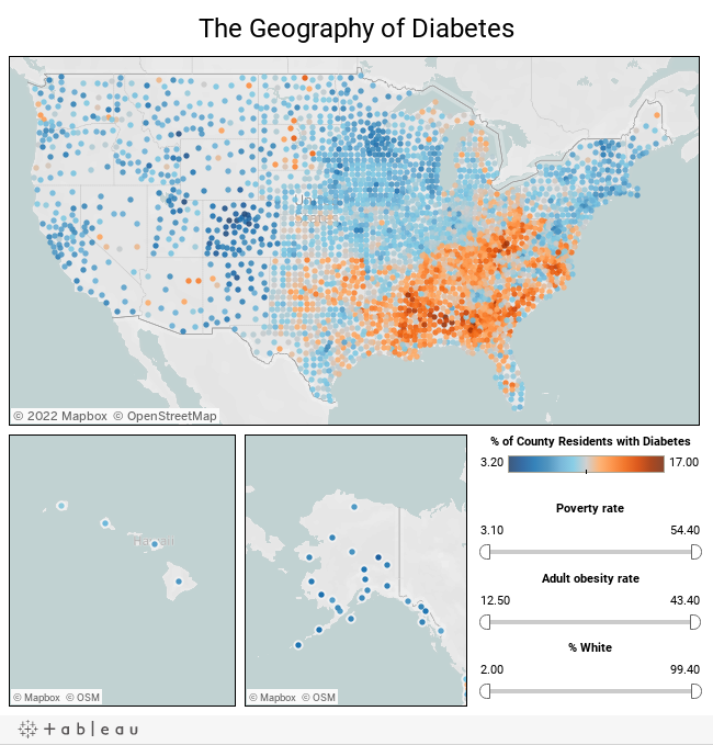 The Geography of Diabetes