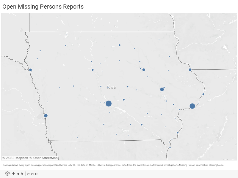 Open Missing Persons Reports