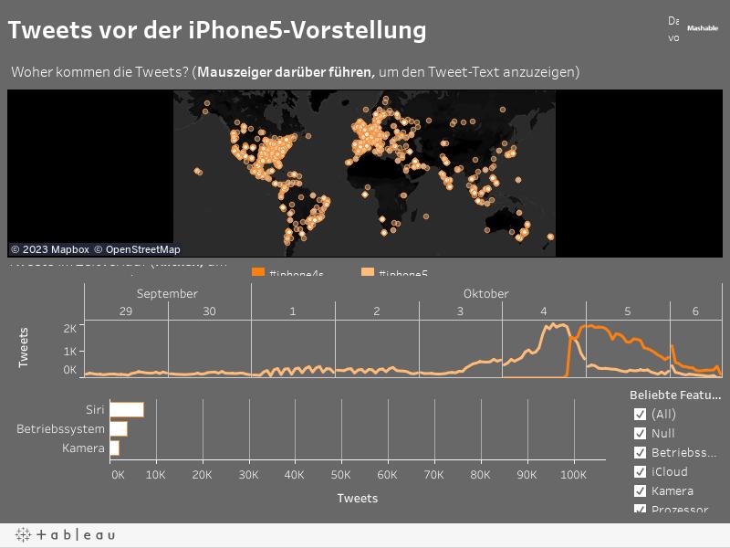 Tweets vor der iPhone5-Vorstellung