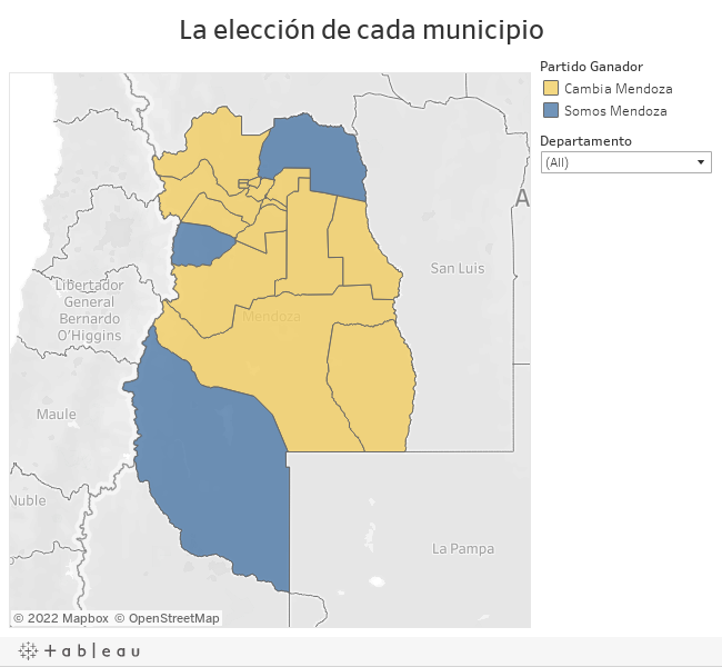 La elección de cada municipio