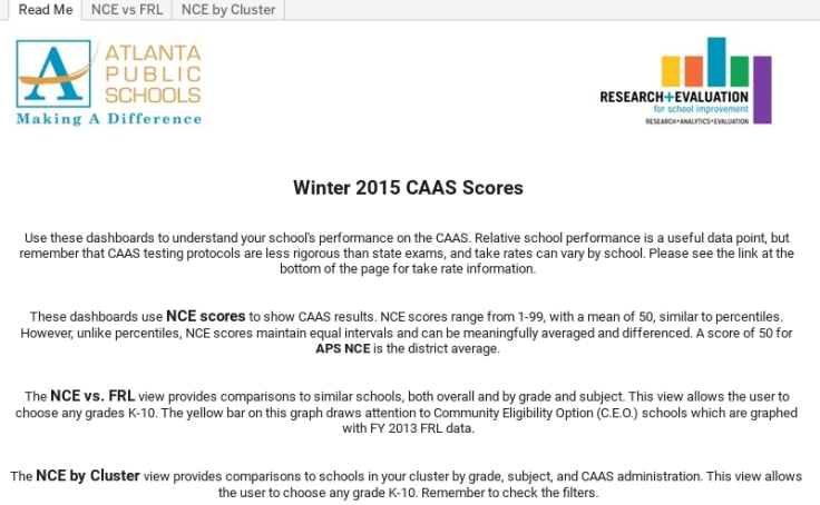 Workbook: CAAS Winter 2015 - Public