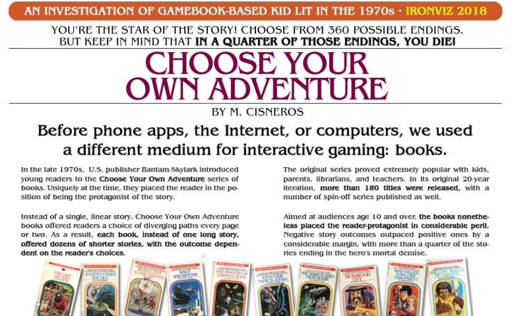 Workbook: Choose Your Own Adventure
