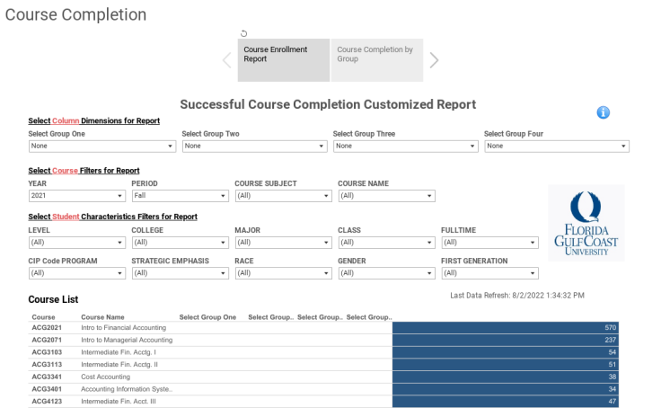 Workbook Course Completion