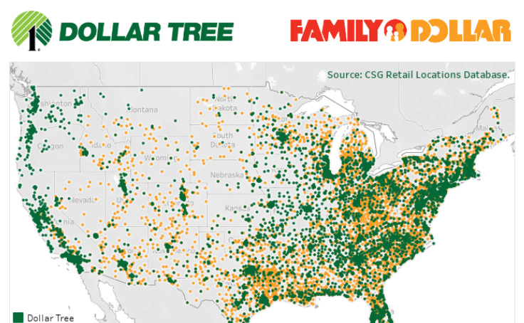 Workbook: Dollar Tree Inc Locations 0319 on