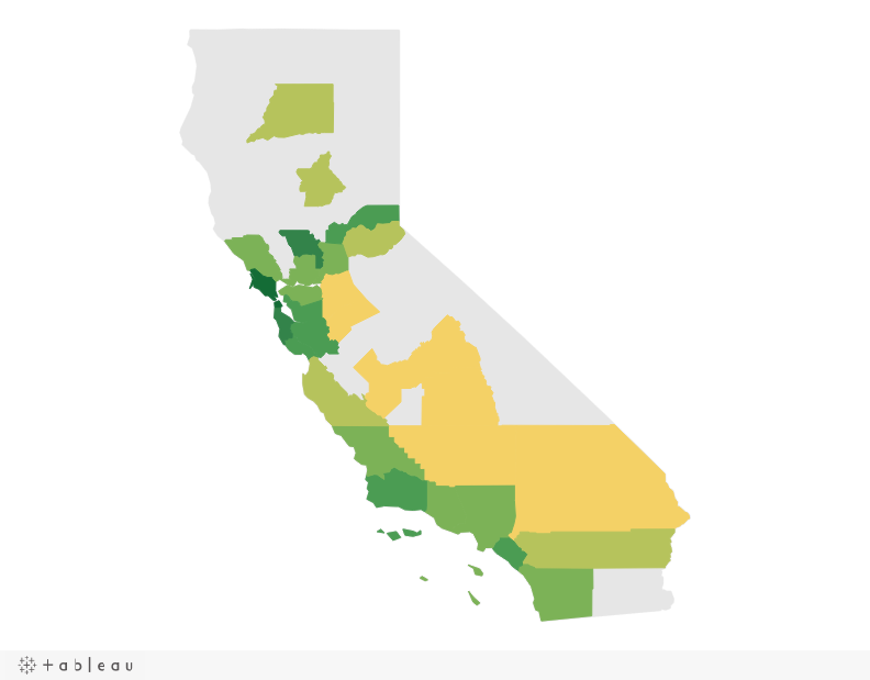 How to Generate 50 State Maps in Tableau - Ben Sullins | Data Geek